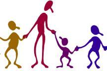 Ilustração mostra criança com deficiência brincando com outras crianças