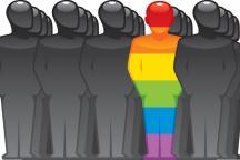 Ilustração sobre a comunidade LGBT